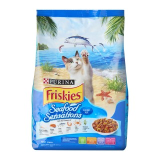 Purina Friskies Seafood Sensations Cat Dry Food