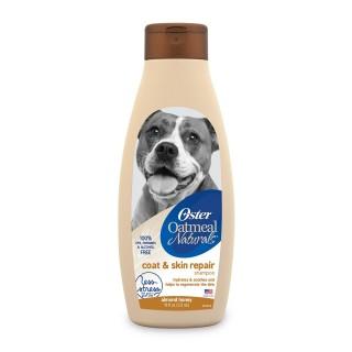 Oster Oatmeal Naturals Coat & Skin Repair Almond Honey 532ml Dog Shampoo