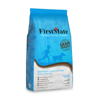 FirstMate Wild Pacific Caught Fish Meal & Oats Formula Dog Dry Food