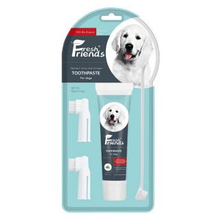 Fresh Friends Peppermint & Aloe Vera Pet Dental Finger Wipes