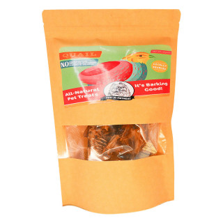 Dog-A-Petreat QUAIL CRISPS 50g Dehydrated Dog Treats