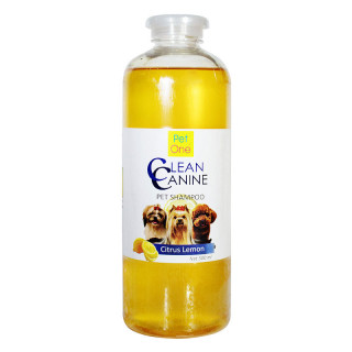 Pet One Clean Canine Citrus Lemon Dog Shampoo
