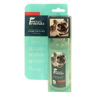 Fresh Friends Clean Teeth Gel 108g Pet Teeth Plaque and Tartar Remover