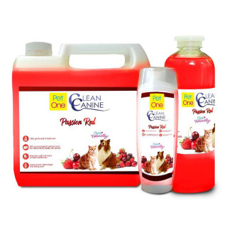 Pet One Clean Canine Passion Red Dog Shampoo with Conditioner