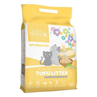 Cindy and Friends Ultra Absorbent Tofu Butterscotch 7L Cat Litter