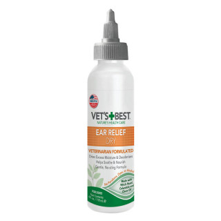 Vet's Best Ear Relief Dry 118ml Dog Ear Cleaner