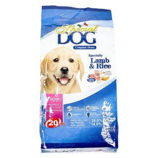 Special Dog Lamb & Rice 9kg Puppy Dry Food