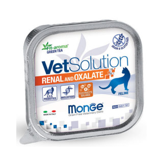 Monge Vet Solution Renal and Oxalate 100g Cat Wet Food