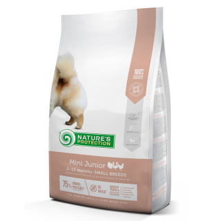DISCOUNTED Nature's Protection Mini Junior 1kg Dog Dry Food (500g + 500g)