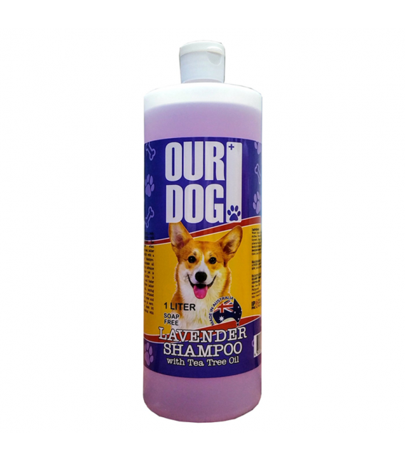 Our Dog Lavender with Tea Tree Oil 1L Dog Shampoo