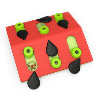 Nina Ottosson Melon Madness Puzzle & Play Cat Toy - Level 2