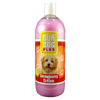 Our Dog Plus Strawberry & Cream Tea Dog Shampoo