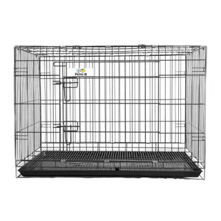 Petto Ai Collapsible Pet Cage - BLACK