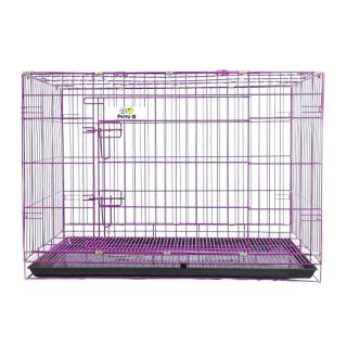 Petto Ai Collapsible Pet Cage - PURPLE