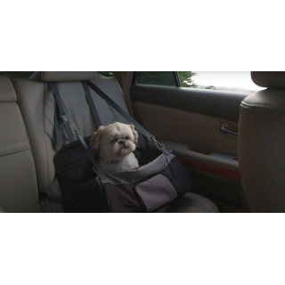 Outward Hound PupBoost Adjustable Elevated Lookout Pet Car Seat