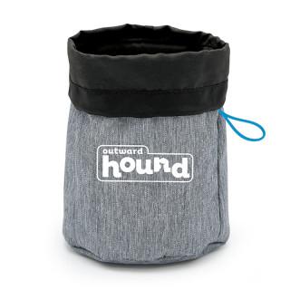 Outward Hound Gray Treat Tote Pet Bag