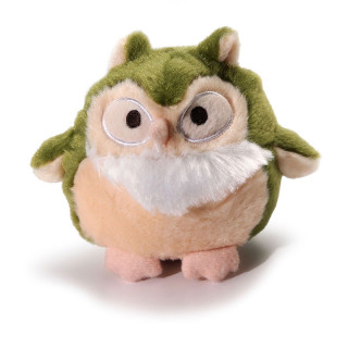 Charming Pet Howling Hoots Green Dog Toy