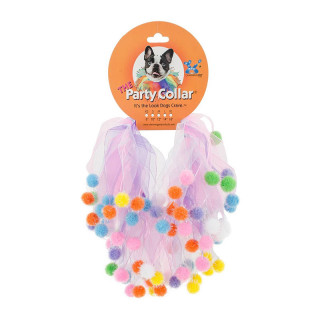 Charming Pet Birthday Party Extra Small Pet Collar