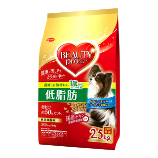 Beauty Pro Small Breed Low Fat 2.5kg Dog Dry Food