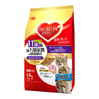 Beauty Pro Urinary Tract Maintenance Senior 1.4kg Cat Dry Food