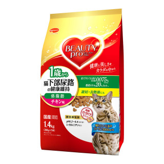 Beauty Pro Low Fat Urinary Tract Maintenance Chicken 1.4kg Cat Dry Food