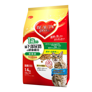 Beauty Pro Low Fat Urinary Tract Maintenance Fish 1.4kg Cat Dry Food