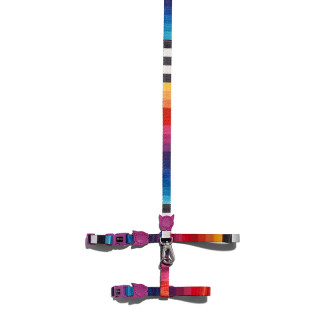 Zee.Cat Prisma Cat H-Harness with Leash