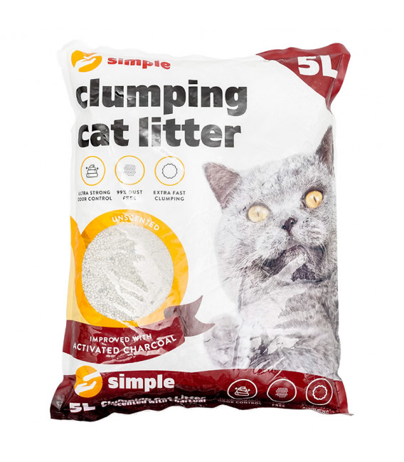 Simple Clumping Cat Litter