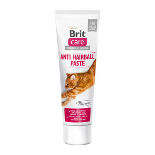 Brit Care Anti Hairball with Taurine Paste 100g Cat Supplement