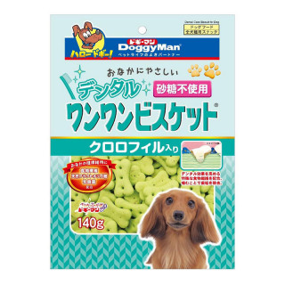 DoggyMan Dental Care Biscuit with Chlorophyll 140g Dog Treats