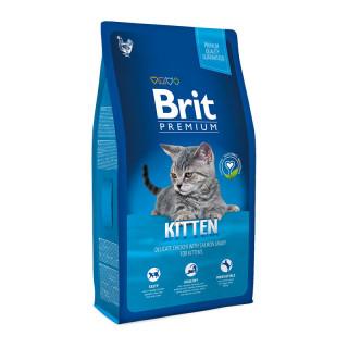 Brit Premium Chicken with Salmon Gravy 1.5kg Kitten Dry Food