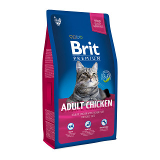 Brit Premium Chicken with Chicken Liver 1.5kg Cat Dry Food