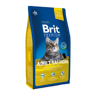 Brit Premium Salmon and Salmon Gravy Cat Dry Food