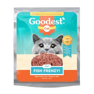 Goodest Cat Fish Frenzy Pate 85g Cat Wet Food