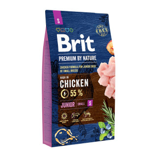 Brit Premium by Nature Junior Small Breed 8kg Dog Dry Food