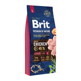 Brit Premium by Nature Junior Large Breed 15kg Dog Dry Food