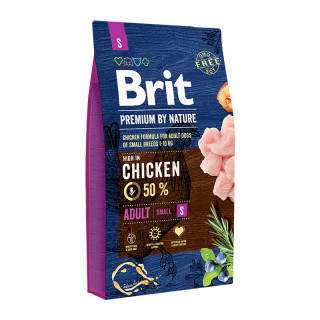 Brit Premium by Nature Adult Small Breed 8kg Dog Dry Food