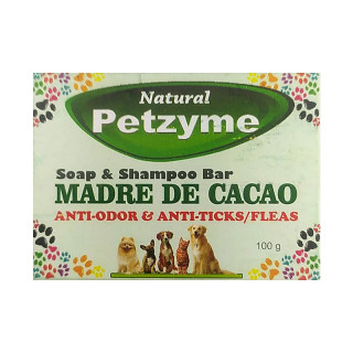 Petzyme Madre de Cacao 100g Pet Soap & Shampoo Bar