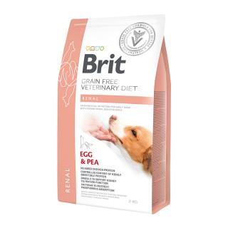 Brit Grain Free Veterinary Diet Renal Egg & Pea 2kg Dog Dry Food
