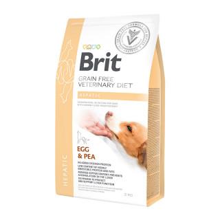 Brit Grain Free Veterinary Diet Hepatic Egg & Pea 400g Dog Wet Food