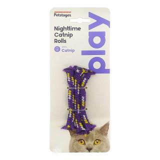 Petstages Nighttime Catnip Rolls Catnip Infused Cat Toy