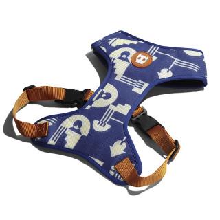 LIMITED EDITION Zee.Dog Adjustable Air Mesh Maze Dog Harness