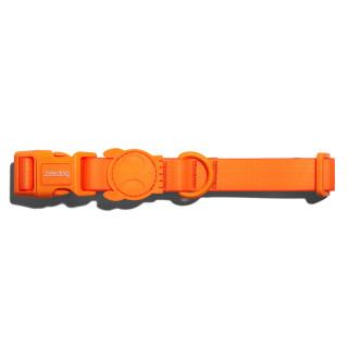 Zee.Dog Neopro Tangerine Dog Collar