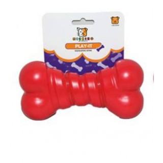 Michiko Play-it Large Squeaking Bone Dog Toy