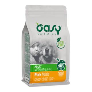 Oasy One Animal Protein Pork Medium/Large Breed Dog Dry Food