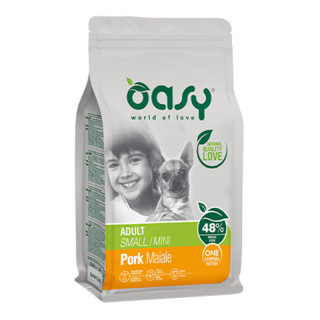 Oasy One Animal Protein Pork Small Breed Dog Dry Food