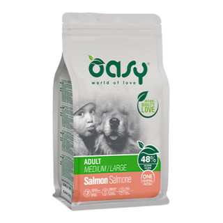 Oasy One Animal Protein Salmon Medium/Large Breed Dog Dry Food