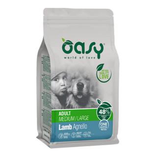 Oasy One Animal Protein Lamb Medium/Large Breed Dog Dry Food