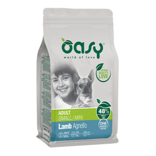 Oasy One Animal Protein Lamb Small Breed Dog Dry Food