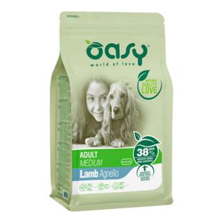 Oasy Lamb Medium Breed Dog Dry Food